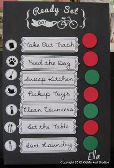 Custom Picture Graphics for a 'Ready Set Go Board' by KidMarked on Etsy Go Board, Motivation For Kids, Nursery Storage, Label Design, My Baby Girl, Craft Activities, Parenting, Blog, Store Shelving
