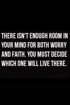 Indeed! Faith rules.