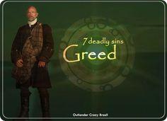 Outlander 7 Deadly Sins: Greed