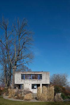 Villa Delin, Strandvägen 43 Djursholm, Danderyd, Sweden  Architect: Lèonie (Lola) Geisendorf, 1970