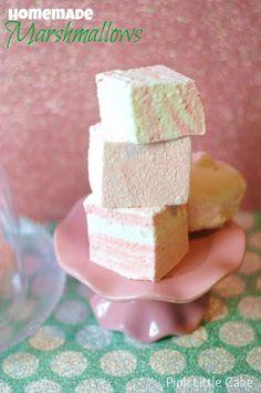 Vanilla Homemade Marshmallows