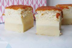 Magic custard cake  http://www.onekitchenblog.com/?p=1032
