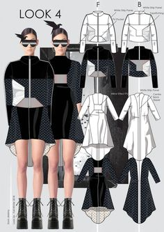 Scalloped-neckline tops Design By Adobe illustrator CC part- 1 Fashion Illustration Portfolio, Fashion Design Sketchbook, Fashion Illustration Dresses, Illustration Mode, Fashion Design Drawings, Vintage Vogue Fashion, Vintage Fashion Sketches, Moda Fashion, Mode Portfolio Layout