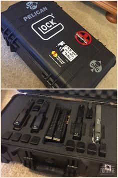 Pelican 1510 pistol case.