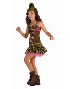 tween costumes for girls   ... Costumes / Occupation and Military Costumes / Army Brat Tween Costume