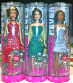 Barbie Holiday Christmas Fashion Fever Dolls Set of 3 Target Exclusive   eBay