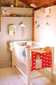 Shelves same color as wall