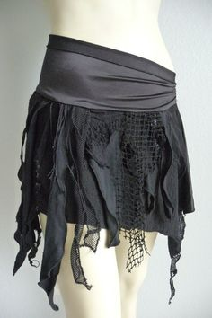Pretty Skirt (maybe add stuff like this to the bottom of the green monster melt skirt thing?)
