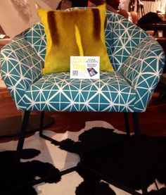 #HATtag to Indigi Designs chair (and yellow Springbock pillow) at @SAlifestyleHub; preview of new furniture collection from South Africa designers to debut at July 2015 #ATLmkt! Furniture Collection, New Furniture, Home Accents, Chair Design, South Africa, Accent Chairs, Designers, Hat, Contemporary