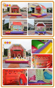 Do you like this candy inflatable bouncer? The lollipops look so delicious. Easily attracts children's eyes for its beautiful painting. Inflatable Bouncers, Lollipops, Beautiful Paintings, Special Events, Kids Rugs, Candy, Eyes, Children, Fun