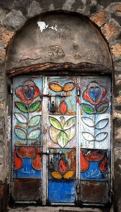 Can OZGUN : Photography. Yemen doors