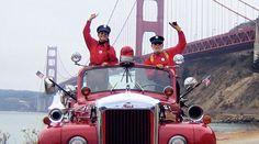 San Francisco Fire Engine Wine Tours - $45