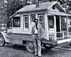 1930's mobile home (well, house, really) with a yard (seriously)