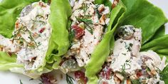 Chicken salad all grown up looks gooood (and makes for amazing leftovers).