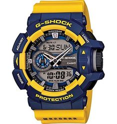 4c31cadc52f online shopping for Casio G-Shock Rotary Switch Mission Stylish Watch -  Blue Yellow   One Size from top store. See new offer for Casio G-Shock  Rotary Switch ...