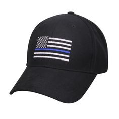 Buy New Thin Blue Line Flag Embroidery Cap Police Officer Blue Lives Matter Baseball Hat at Wish - Shopping Made Fun Blue Line Police, Thin Blue Line Flag, Thin Blue Lines, Black Baseball Cap, Baseball Hats, Thin Blue Line Products, Usa Cap, Police Hat, Police Officer