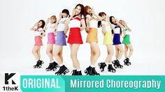 [Mirrored] OH MY GIRL(오마이걸) _ LIAR LIAR(라이어 라이어) Choreography(거울모드 안무영상)...