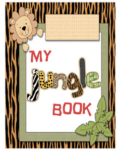 Jungle Theme CommunicationHomework Folder - Fredia Shumway - $1.50