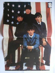 Beatles Big Poster Greek Magazines clippings 80s | eBay