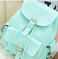 Casual College Style Mint Green Backpack ,cheap Fashion Backpacks - Fashion Bags online shopping,Casual College Style Mint Green Backpack is suitable for leisure occassion such as shopping, small gathering Green Backpacks, Stylish Backpacks, Cute Backpacks For School, Cute Mini Backpacks, College Backpacks, College Bags, College School, Leather Backpacks, Leather Bags