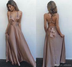Simple Popular Sexy Cheap Long Beach Dresses