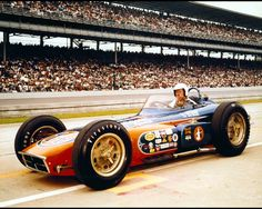 1962 - Don Branson's (#14) Indy Roadster - Qualified 11th, Speed (147.312 mph) Finished 12th