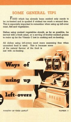 Eating for Victory: original Second World War ration recipes - Telegraph