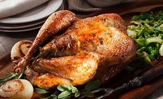 Herb Roasted Pheasant #recipe for #Christmas dinner
