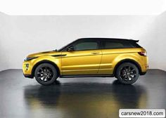 2018-2019 Range Rover Evoque Sicilian Yellow Limited Edition
