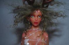 Rensdyr | OOAK fantasy Christmas doll | Tatiana Canini | IADR