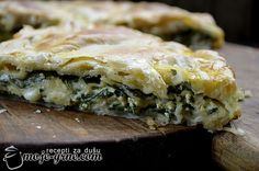 Propeć - vranjanska pita sa zeljem i sirom
