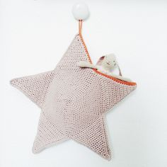 Christmas Stocking Star By Cecile - Free Crochet Pattern - (hvadbiertaenker)