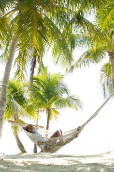 This secluded all-villa resort sits halfway between Miami and Key West on Islamorada, a sport fishing destination that's known for some of the area's most spectacular sunsets. The beach hammock is the perfect spot for an afternoon snooze. #Jetsetter Moorings Village & Spa