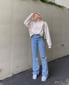 Style Outfits, Indie Outfits, Retro Outfits, Cute Casual Outfits, Winter Outfits, Teen Fashion Outfits, Vetement Fashion, Look Vintage, Outfit Goals