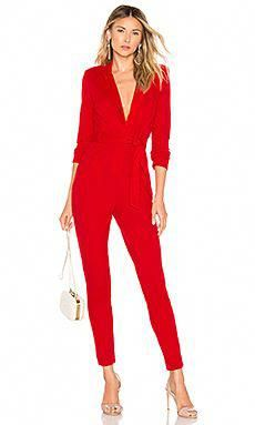 525df83053a6 Chrissy Teigen x REVOLVE Cameron Jumpsuit in True Red