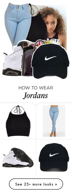 """Untitled #569"" by bria-martin on Polyvore featuring River Island, Retrò and Nike Golf"