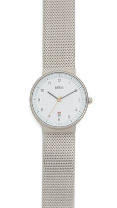 Braun Классические часы с колесиком регулировки даты
