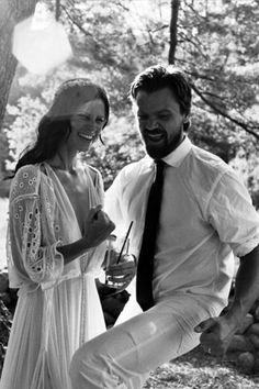 via Courtney and Taavo Somer's Boho Farm Wedding / Wedding Style Inspiration / LANE (PS - Follow us on instagram: the_lane)