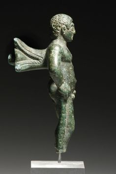 Bronze Heracles Statuette - found South Etruria, ca.C, height 7 cm Ancient Myths, Ancient Art, Ancient History, Mythological Characters, Classical Antiquity, Roman Art, Male Figure, Medieval Art, African American History
