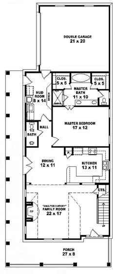 #654353 - 3 Bedroom 2.5 Bath Cottage : House Plans, Floor Plans, Home Plans, Plan It at HousePlanIt.com