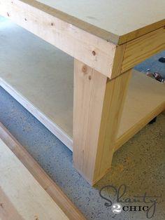 Workbench Leg 3