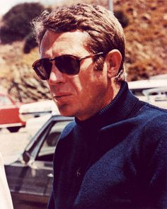 Steve McQueen in Persol by The Guise Archives, via Flickr