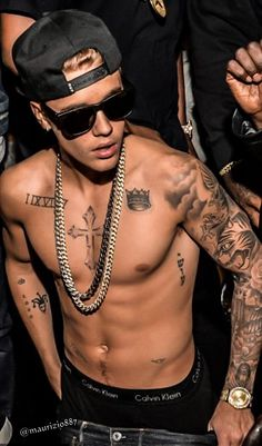 His tatts are so sick