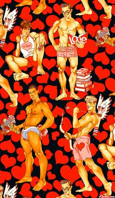 Hunks Valentines Day