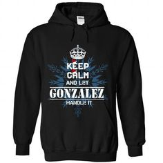GONZALEZ - #gift for her #gift for teens. BUY TODAY AND SAVE  => https://www.sunfrog.com/States/GONZALEZ-9361-Black-Hoodie.html?60505