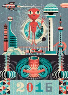 HNY 2016 ! - Gwen Keraval illustration