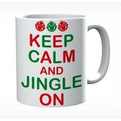 Keep Calm And Jingle On  Mug #keepcalm #keepcalmmugs #mugs #personalised