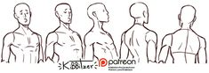 Become a patron of kibbitzer today: Read 425 posts by kibbitzer and get access to exclusive content and experiences on the world's largest membership platform for artists and creators. Gesture Drawing, Body Drawing, Drawing Base, Anatomy Drawing, Manga Drawing, Figure Drawing Reference, Art Reference Poses, Drawing Hair Tutorial, Poses References