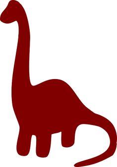 Imagen gratis en Pixabay - Dinosaurio, Brown, Silueta