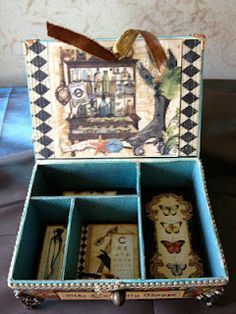 Cigar box- Martha  Lee.....nice!